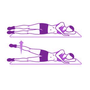 levantamiento lateral de pierna