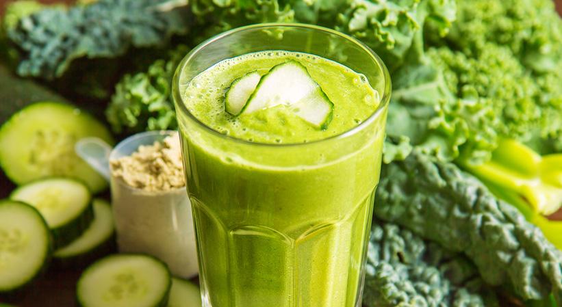 ¡Preparate un Smoothie verde súper nutritivo!